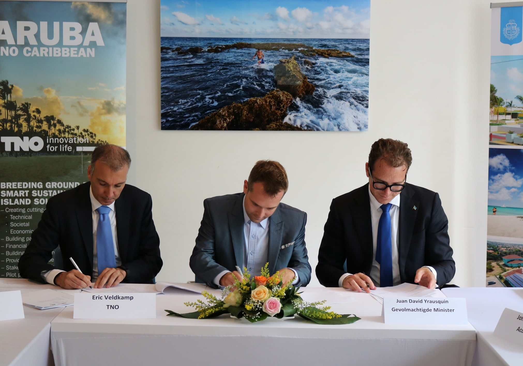 FlexSol Solutions joins coalition to make Aruba sustainable