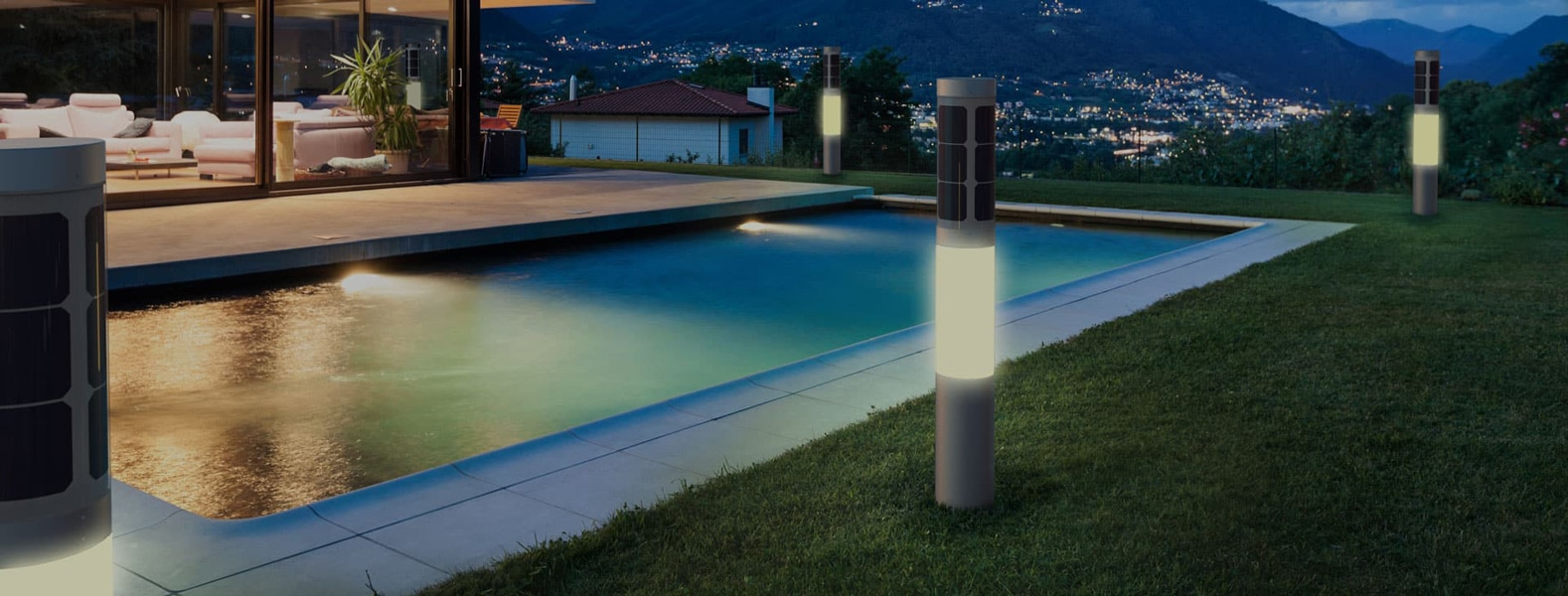 View Larger Image Nxt Smart Solar Lamp Home Automation Z Wave Outdoor Pool Lighting