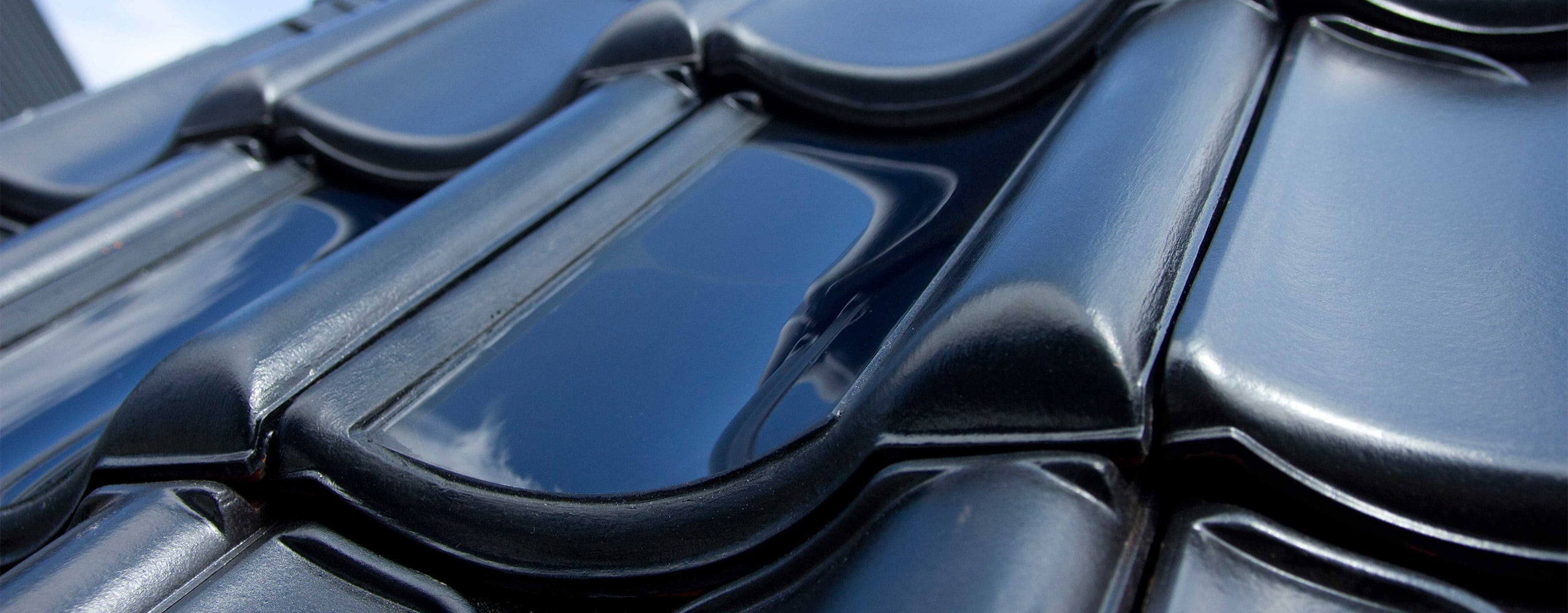 Solar roof tile the elegant source of power flexsol solutions flexsol solar roof tile curved solar panel for bipv in black ceramic dailygadgetfo Gallery