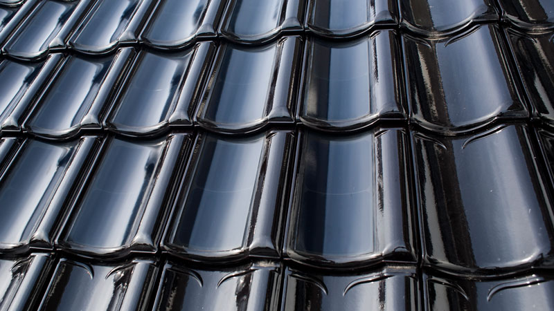 FlexSol solar roof close-up